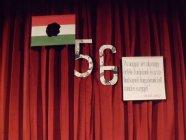 1956. október 23. ünnepi műsor a kecskeméti Magyar Ilona Általános Iskolában